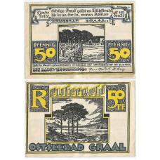 Нотгельд 50 пфеннигов 1922 - Германия - Ostseebad Graal (Остзеебад-Граль)