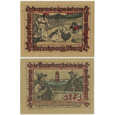 Нотгельд 50 пфеннигов 1922 - Германия - Pries-Friedrichsort (Прис-Фридрихсорт)