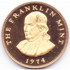 Сувенирная Монета THE FRANKLIN MINT 1974