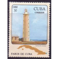1980 Октябрь Куба Маяк 30 сентаво
