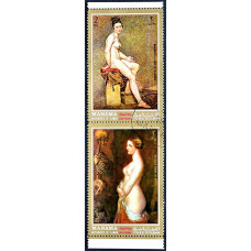 1972 Блок Авиа Манама (ОАЭ) Картины Старинных Мастеров