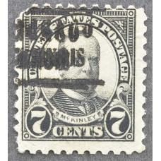 1923 Май США Уильям Мак-Кинли 7 центов