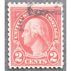 1923 Январь США Джордж Вашингтон 2 цента