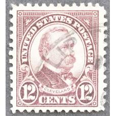 1923 Март США Гровер Кливленд 12 центов