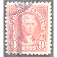 1923 Январь США Томас Джефферсон 9 центов