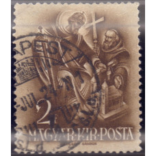 1938, январь. Почтовая марка Венгрии. 900 лет со дня смерти св. Стефана. 2 филлера