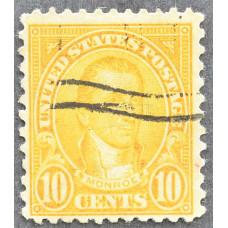 1923 Январь США Джеймс Монро 10 центов