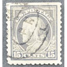 1917 США Бенджамин Франклин 15 центов