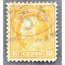 1917 США Бенджамин Франклин 10 центов
