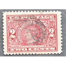 1909 Июнь США Аляска-Юкон Тихоокеанская Выставка 2 цента