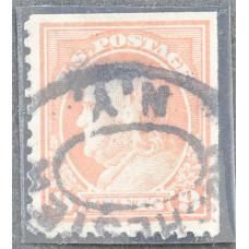 1917 США Бенджамин Франклин 9 центов