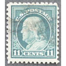 1917 США Бенджамин Франклин 11 центов
