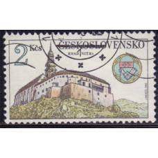 1982 Август Чехословакия Замок 2 кроны