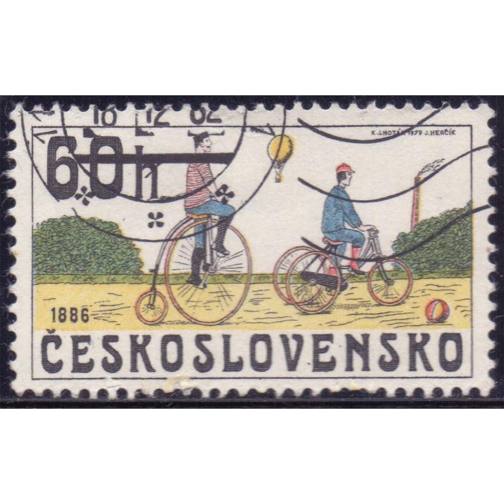 1979 Сентябрь Чехословакия Исторические Велосипеды 60 геллеров