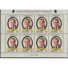 1982 Июль Либерия Линдон Джонсон 23 цента