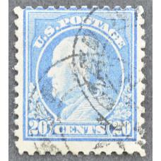 1917 США Бенджамин Франклин 20 центов
