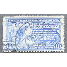1902-1917 США Посыльный на Велосипеде 10 центов