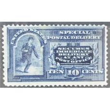 1888-1893 США Бегущий Посыльный 10 центов