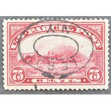 1913 США Марка Бандерольных Отправлений 75 центов