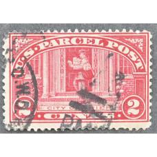 1913 США Марка Бандерольных Отправлений 2 цента