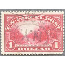 1913 США Марка Бандерольных Отправлений 1 доллар