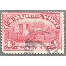 1913 США Марка Бандерольных Отправлений 4 цента