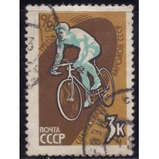 1963, июль. III Спартакиада народов CССР. Велосипедный спорт