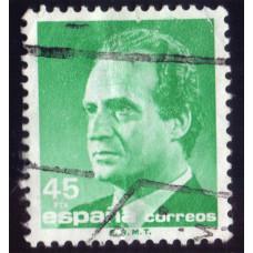1985 Июнь Испания Король Хуан Карлос I 45 песет