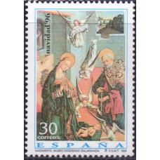 1996, ноябрь. Почтовая марка Испании. Рождество