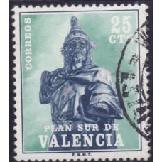 1975, август. Почтовая марка Испании. Валенсия