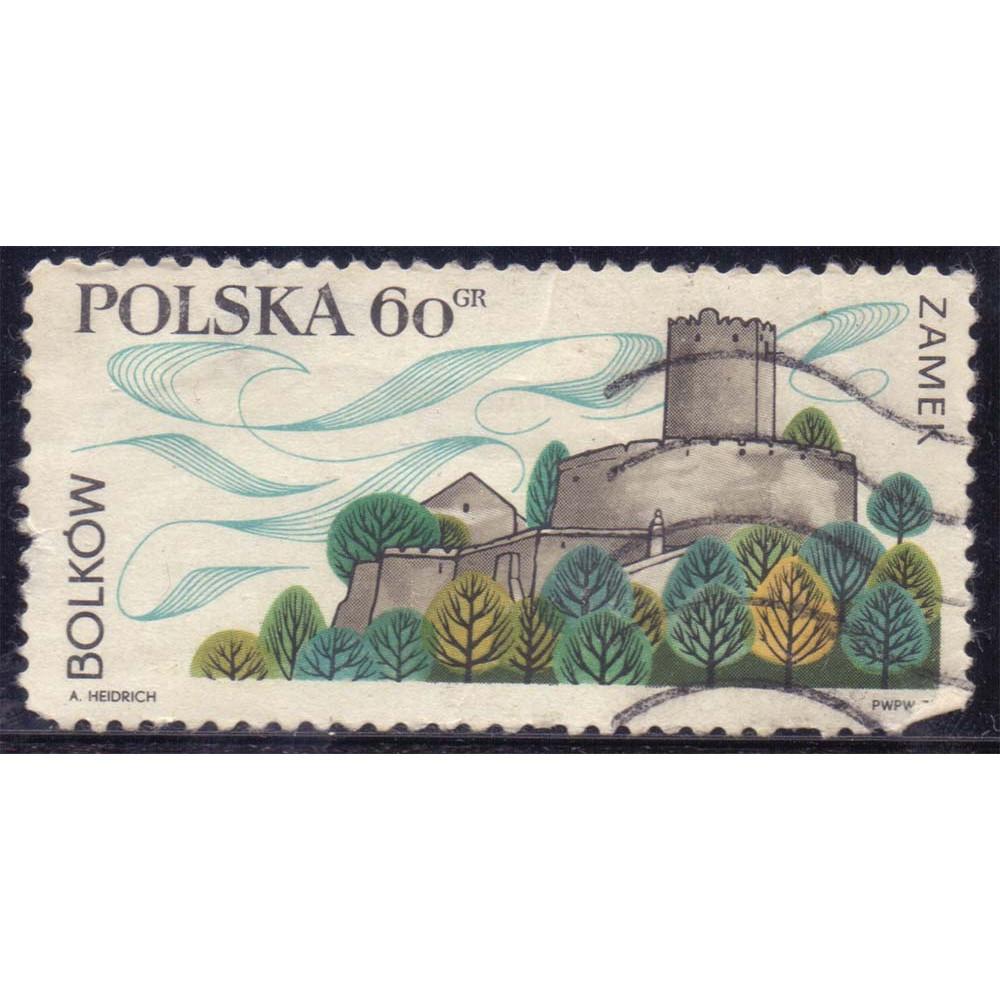 1970 Май Польша Замок в Болькуве 60 грошей