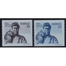 1969, май. Набор почтовых марок Швеции. Альберт Энгстрём