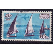 1978 Январь Египет Достопримечательности 140 миллимов