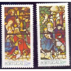 1983, ноябрь. Набор марок Португалии. Christmas