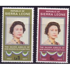 1977 Ноябрь Сьерра-Леоне 25 лет Правления Королевы Елизаветы II