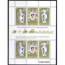 1978 Июнь Свазиленд 25 лет Коронации Королевы Елизаветы II 25 центов