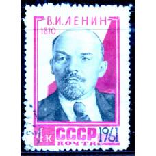 1961, апрель. 91-я годовщина со дня рождения В.И.Ленина