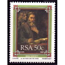 1987 Ноябрь Южно-Африканская Республика (ЮАР) Библейское Сообщество 50 центов