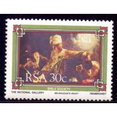 1987 Ноябрь Южно-Африканская Республика (ЮАР) Библейское Сообщество 30 центов