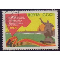 1964, апрель - май. 20-летие освобождения Одессы и Ленинграда, Памятник Ленину
