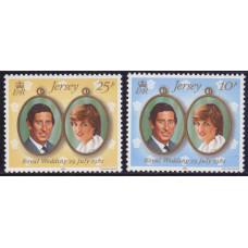 1981 Июль Джерси Королевская Свадьба