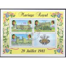 1981 Сентябрь Коморские Острова Британская Королевская Свадьба
