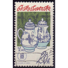 1977 Июнь Чехословакия Чехословацкий Фарфор 20 геллеров