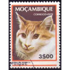 1979 Март Мозамбик Кошки 3.00 эскудо