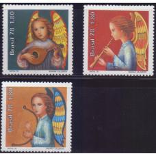1978, ноябрь. Набор марок Бразилии. Рождество