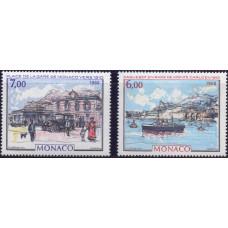 1988, сентябрь. Набор почтовых марок Монако. Виды Монако