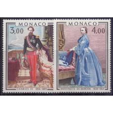 1979, ноябрь. Набор почтовых марок Монако. Картины - принцы и принцессы Монако