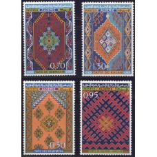 1968, апрель. Набор марок Алжира. Алжирские ковры