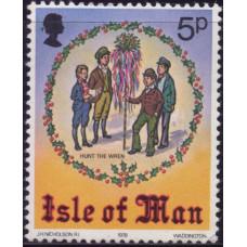 1978, октябрь. Почтовая марка Острова Мэн. Рождественская марка