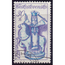 1978 Декабрь Чехословакия Словацкая Керамика Всадник (Ж. Франко) 30 геллеров